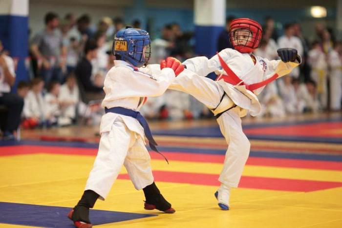 армейский рукопашный бой для детей